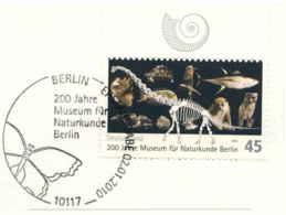 954  Musée D'Histoire Naturelle Berlin: Oblitération Premier Jour Papillon - Nature History Museum: Butterfly Cancel - Butterflies