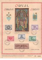 Feuillet Souvenir 625-630 Orval - Cartes-maximum (CM)