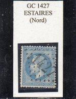 Nord - N° 29B Obl GC 1427 Estaires - 1863-1870 Napoléon III Lauré