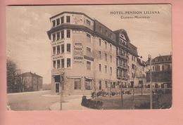 OUDE POSTKAART - ZWITSERLAND - SUISSE - MONTREUX -  HOTEL LILIANA - VD Vaud