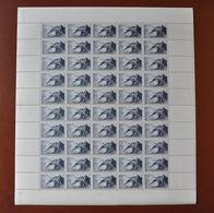 Feuille Complète De 50 Timbres POINTE Du RAZ N° 764 - NEUF  Coin Daté: 23.9.46 - Sans Charnière - Full Sheets