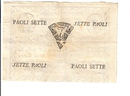PONTIFICIO REPUBBLICA ROMANA ASSEGNATI 7 PAOLI ANNO 7°  BB/spl LOTTO 3149 - Italië