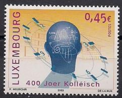 2003  Luxemburg Mi. 1609**MNH    400 Jahre Athenäum, Luxemburg-Stad - Luxembourg