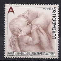 2003  Luxemburg Mi. 1614**MNH      Internationale Woche Des Stillens - Luxembourg