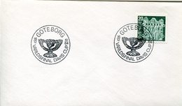 53271 Sweden,  Special Postmark 1984  Tennis Davis Cup  Goteborg - Tennis