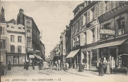 Carte Postale Ancienne De Abbeville Rue Alfred - Cendré - Abbeville