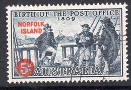Norfolk Island 1959 150th Anniversary Of Australian PO, Used, SG 23 (BP2) - Isola Norfolk