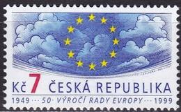 Tschechische Republik , 1999, 213, MNH **, 50 Jahre Europarat - Ongebruikt