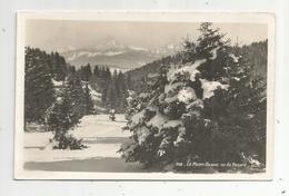JC , Cp, 74 ,  LE MONT BLANC Vu Du Revard ,  Vierge - Chamonix-Mont-Blanc