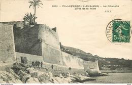 Promotion PHL 2 X Cpa 06 VILLEFRANCHE-SUR-MER. Citadelle 1913 Et Vue 1910 - Villefranche-sur-Mer