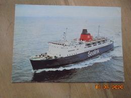 """Sealink """"M.V. Horsa"""" Dixon L6/SP.3297 PM 1977 - Ferries"""