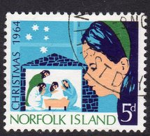 Norfolk Island 1964 Christmas, Used, SG 57 (BP2) - Isola Norfolk
