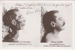 CPM - Pierre Loti Se Comparant à Ramses II - La Belle Epoque En Charentes - Writers