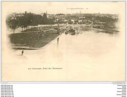 16 ANGOULEME. Superbe, Port De L'Houmeau. Carte Pionnière 1901 - Angouleme