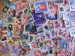LOT De 750 ETIQUETTES De Boites D'ALLUMETTES - Matchbox Labels