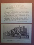 PUB TRACTEUR AUTOGAZ SCEMIA - France