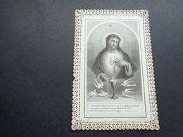 Devotieprentje ( 1425 )  Image Pieuse Religieuse Dentellée Avec Dentelle - Prentje Met Kant - Images Religieuses