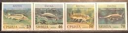 Serbia, 2018, Mi: 781/84 (MNH) - Fische