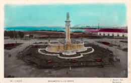 R341812 Cadiz. Monumento A Las Cortes. L. Roisin. 1931 - Mondo