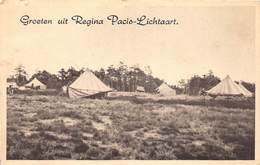 Kasterlee Groeten Uit Regina Pacis Lichtaart Tent Tenten      Barry 5652 - Kasterlee