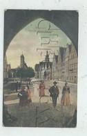 Weiden In Der Oberpfalz (Allemagne, Bavière) : Blick Auf Unteren Marktplatz Im 1907 (lebendig) PF. - Weiden I. D. Oberpfalz