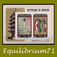 BL39A** Exposition D' / Tentoonstelling Van / Ausstellung / Exposure - Osaka - BURUNDI - Burundi