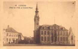 Lier Lierre  Hotel De Ville Et Grand Place  Stadhuis En Markt        Barry 5662 - Lier