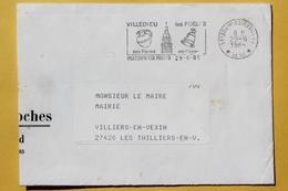 50 Manche - Flamme PP 1985 - VILLEDIEU LES POELES - Ses Foires Ses Cuivres - Mechanical Postmarks (Advertisement)