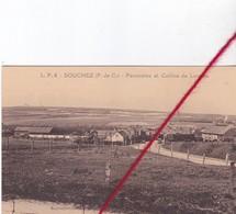CP 62 -   SOUCHEZ  -  Panorama Et Colline De LORETTE - France
