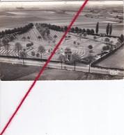 CP 62 -   SOUCHEZ  -  Vue Aérienne Sur Le Cimetière Anglais   (ponts  Colle Verso) - France