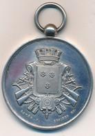 """J91 - Médaille Argent """"Société De Tir De Grenoble"""" - Armoiries De La Ville De Grenoble -  Poids 31 Gr - France"""