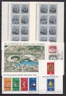 BRD - 1964/73 - Block Sammlung - Postfrisch/Gest. - BRD
