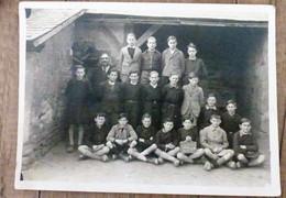 Photo Ancienne De CLASSE ALIGNY 58 Nievre Ecole De Garcons - Otros