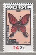 EUROPA CEPT 2003 Poster Slovakia Slovensko Mi 454 MNH (**) #19546 - Butterflies