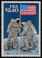 ✔️ United States Etats Unis 1989 - Space Planting Flag On Moon - Mi. 2046 ** MNH - United States