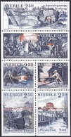 Schweden, 1991, Mi. Nr. 1678/83, MNH **, Geschichte Der Eisenindustrie. - Neufs