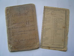 LIVRET MILITAIRE : CLASSE 1891 / SOLDAT D' INFANTERIE : Historique 1891 - 1917 - Documenti