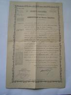 CERTIFICAT CONDUITE 1895 : MILITAIRE / SOLDAT CLASSE 1891 / 12 ème REGIMENT INFANTERIE - PERPIGNAN - Documenti