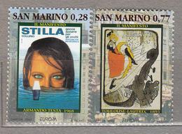 EUROPA CEPT 2003 Poster San Marino Mi 2085 - 2086 MNH (**) #19552 - 2003