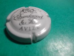 CAPSULE DE CHAMPAGNE  -  CHARDONNET & Fils - N°  06 Blanc Et Noir - Autres