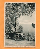 2/10 PS Hanomag Kleinauto Externsteine Germany Old Advertising Postcard - Allemagne