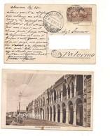 3567) COLONIE VIRGILIO 30c Sovrastampato ERITREA Card Massaua - Eritrea
