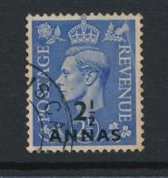 BRITISH EAST ARABIA, 1948 2.5 Anna Blue Fine Used, Cat GBP 11 - Bahrein (...-1965)
