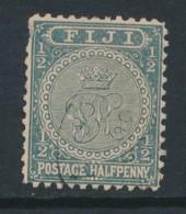 FIJI, 1891 Halfpenny P11x11.75 (1 Short Perf), SG99 - Fiji (...-1970)