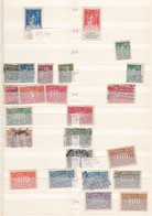 Deutsches Reich  - 1922/1923 - Sammlung  - Gest./Ungebr./Postfrisch - Deutschland