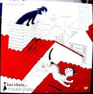 DUBOUT CHATS CALENDRIER 2009 ILLUSTRE PAR DUBOUT  BIEN COMPLET TRES BON ETAT NOMBREUSES ILLUSTRATIONS - Kalender