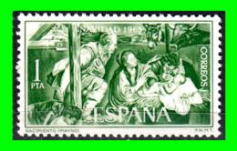 ESPAÑA  SELLO AÑO 1965 NAVIDAD - 1961-70 Nuevos & Fijasellos