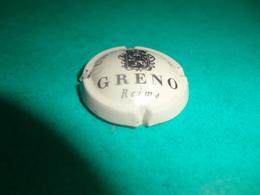 CAPSULE DE CHAMPAGNE  -   GRENO  -  N°   02  Blanc Cassé Et Noir, 32mm - Autres