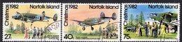 Norfolk Island 1982 Christmas Set Of 3, Used, SG 293/5 (BP2) - Norfolk Island