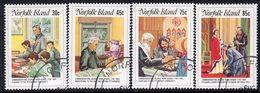Norfolk Island 1984 Reverend Nobbs Death Centenary Set Of 4, Used, SG 352/5 (BP2) - Norfolk Island